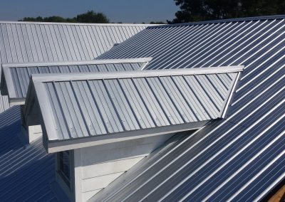 A Metal Roof on a home in St. Louis, MO